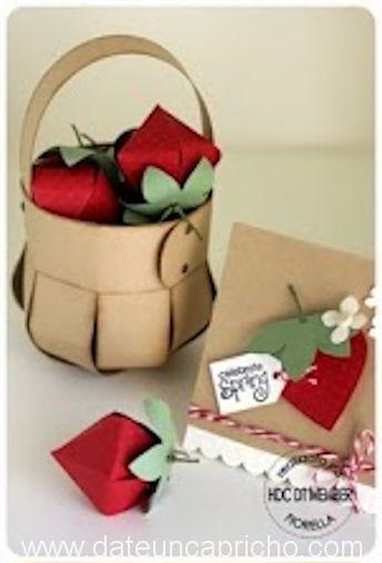 Photo of Como hacer una cesta para regalo de cartón