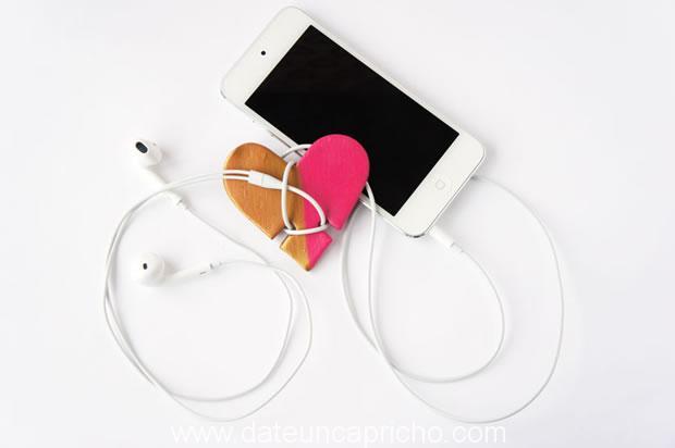 Photo of Vamos a hacer un accesorio corazón para los auriculares