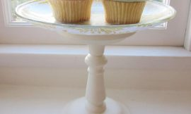 Fácil soporte o exhibidor de pasteles
