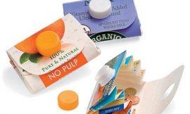 Cómo hacer monederos reciclando briks de leche o zumo