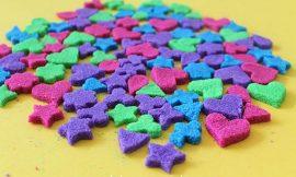Terrones de azucar a todo color