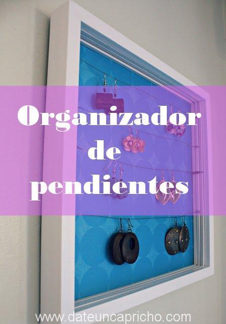 Organizador para pendientes