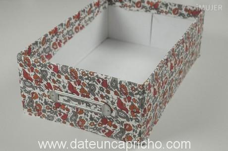 Como forrar una caja