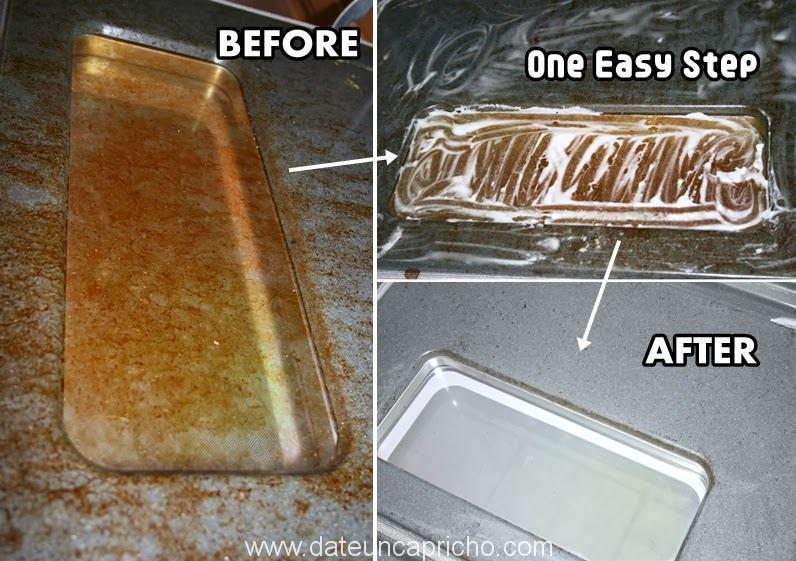 Limpiar el cristal del horno en sólo un paso