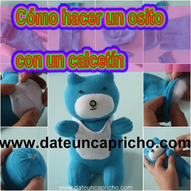 How to DIY Adorable Sock Teddy Bear