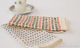 Personalizar servilletas con marcadores