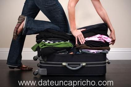 Como hacer la maleta como un profesional.