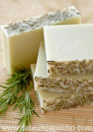 Jabón de romero para piel grasa