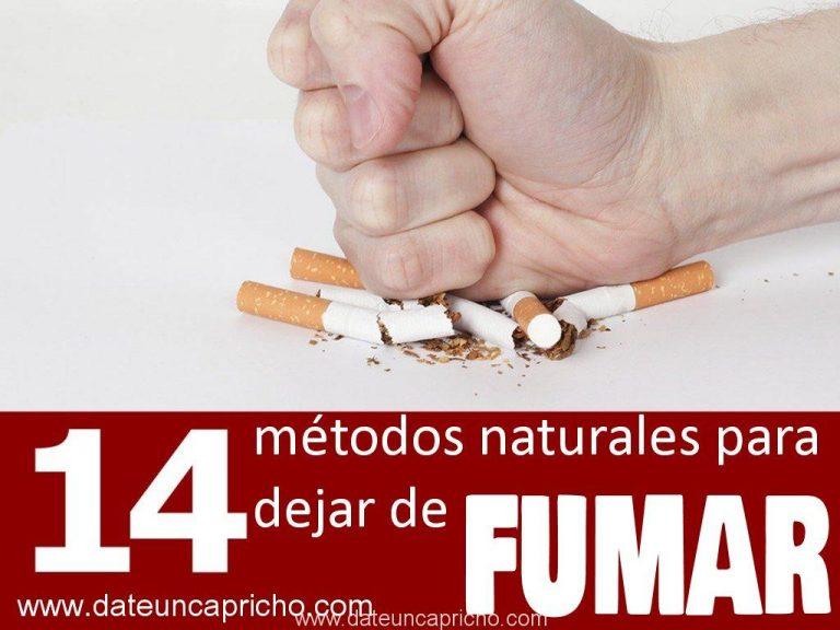 14 Métodos naturales para dejar de fumar