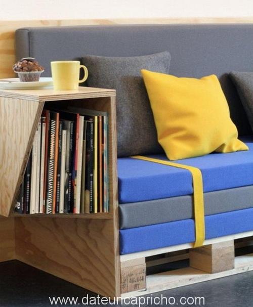 21 muebles de jardin con palets reciclados date un capricho - Muebles de jardin con palets ...