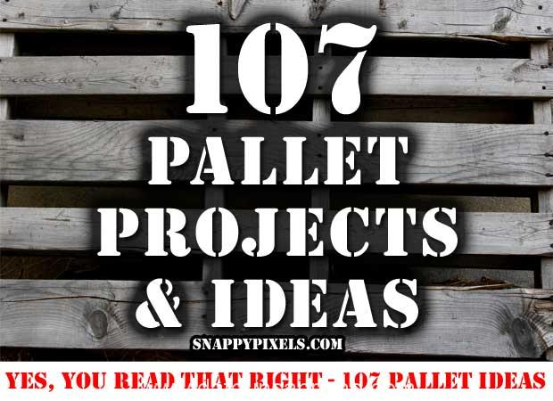 Photo of 107 Proyectos e ideas con palets (1ª parte)