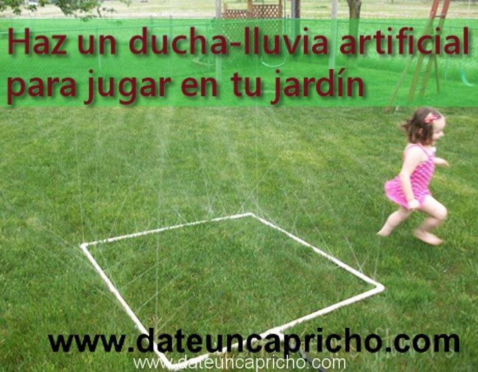 Photo of Haz un ducha-lluvia artificial para jugar
