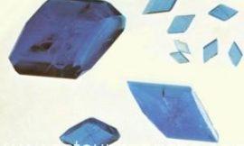 Cómo hacer gemas caseras: cristales azul celeste