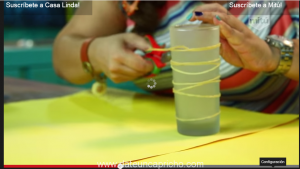 Transforma tus Vasos en Portavelas