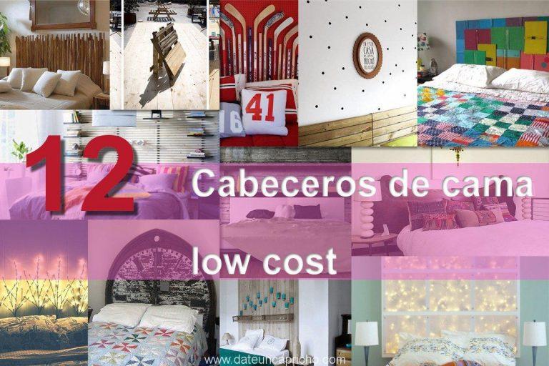 12 cabeceros de cama low cost fáciles de hacer para renovar tu hogar