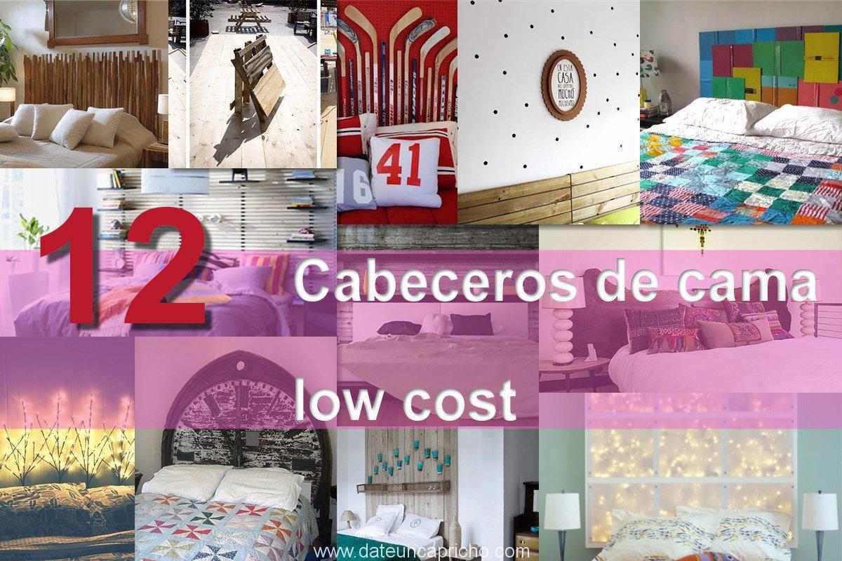 12 cabeceros de cama low cost f ciles de hacer para for Renovar tu casa reciclando