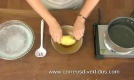 Como pelar una patata en 5 segundos