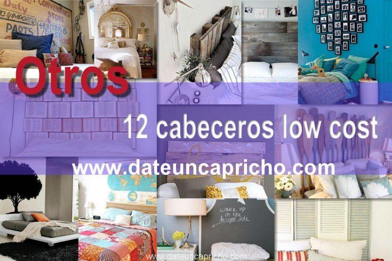 Otros 12 cabeceros low cost para tu cama más