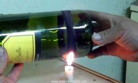Como cortar fácilmente una botella de vidrio