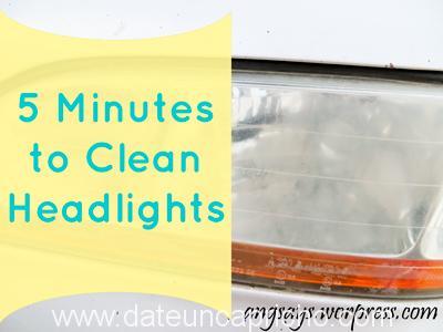 Limpia los faros de tu coche y déjalos relucientes