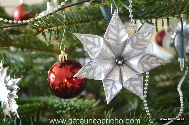Aprender es divertido como hacer flores navide as para tu - Como se hacen adornos navidenos ...