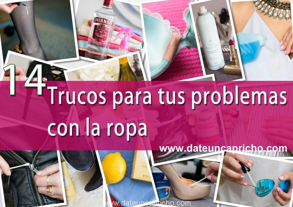 Photo of 14 trucos para tus problemas con la ropa