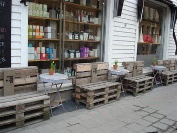 pallet-benches