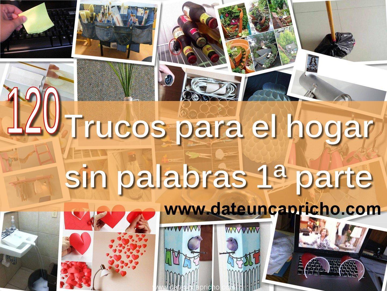 Photo of 120 trucos para el hogar sin palabras 1ª parte