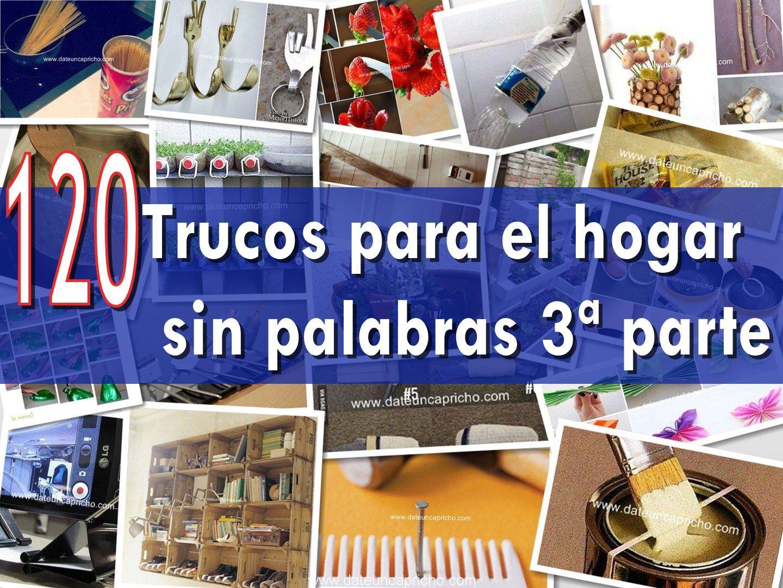 Photo of 120 trucos para el hogar sin palabras 3ª parte
