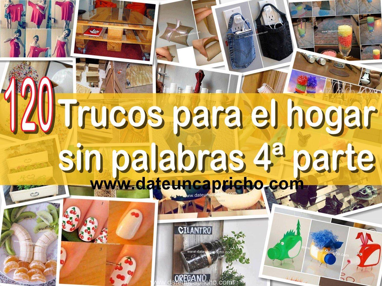 Photo of 120 trucos para el hogar sin palabras 4ª parte