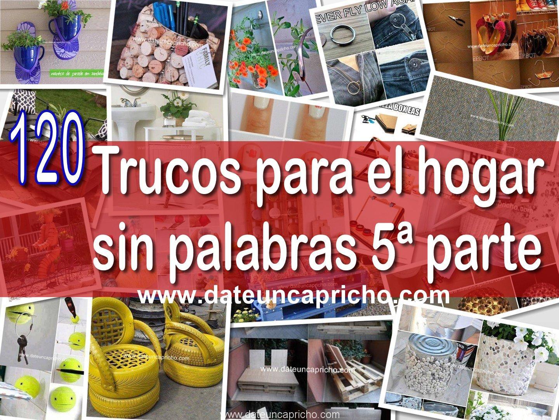 Photo of 120 trucos para el hogar sin palabras 5ª parte