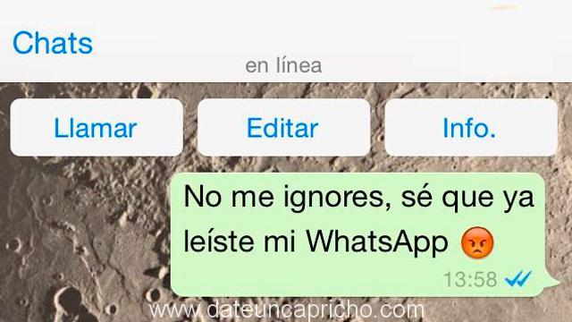Cómo leer tus mensajes de Whatsapp, sin que sepan que lo has leido