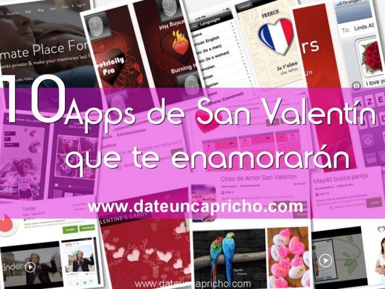 10 apps de San Valentín que te enamorarán