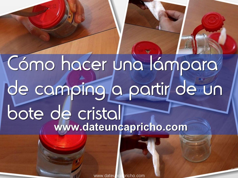 Photo of Cómo hacer una lámpara de camping a partir de un bote de cristal