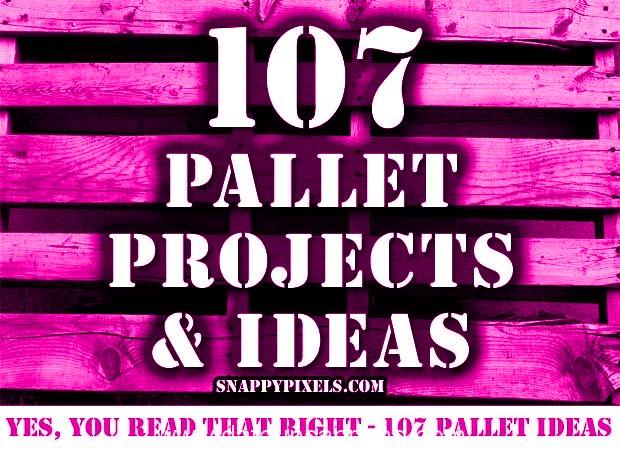 107 pallet project ideas2