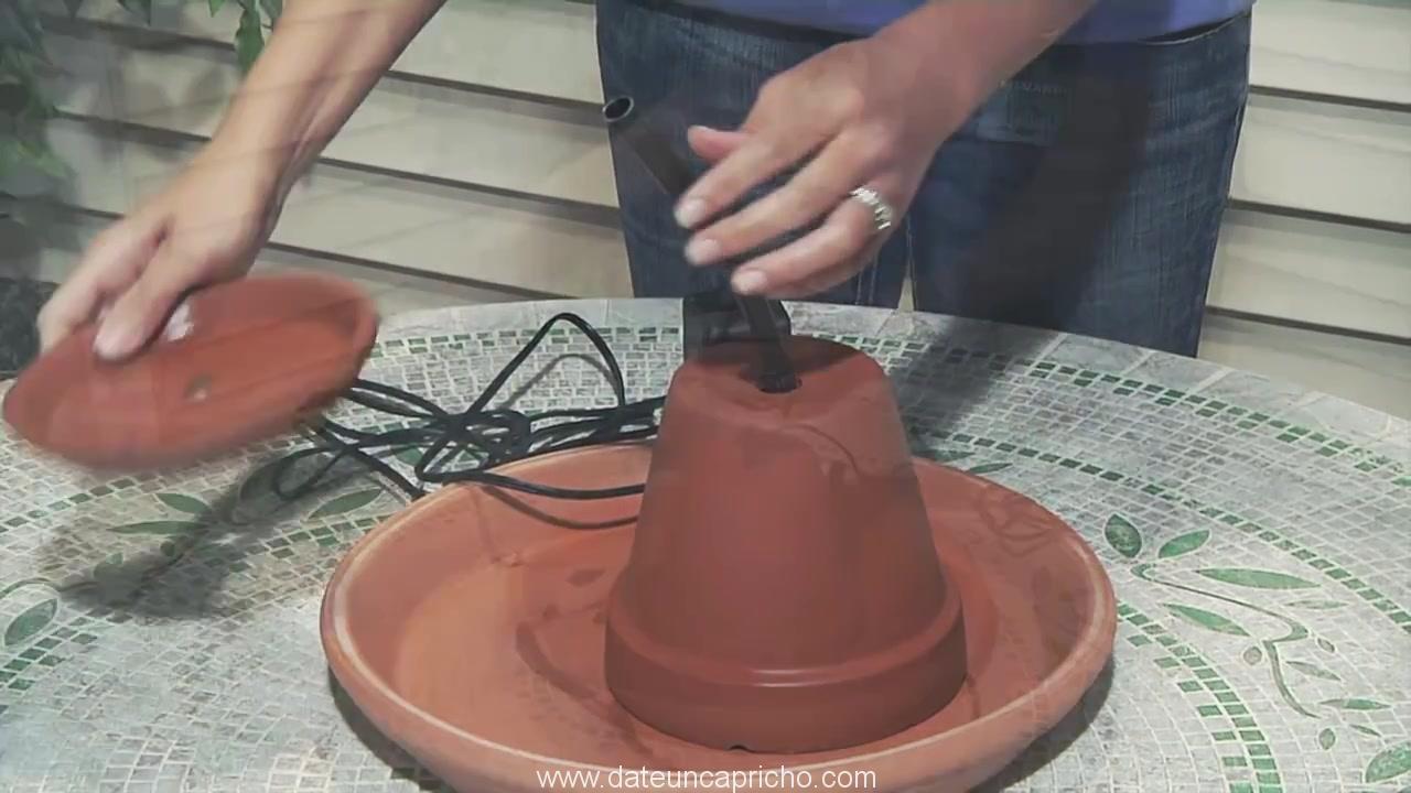 Terra Cotta Fountain How To Build Menards 289