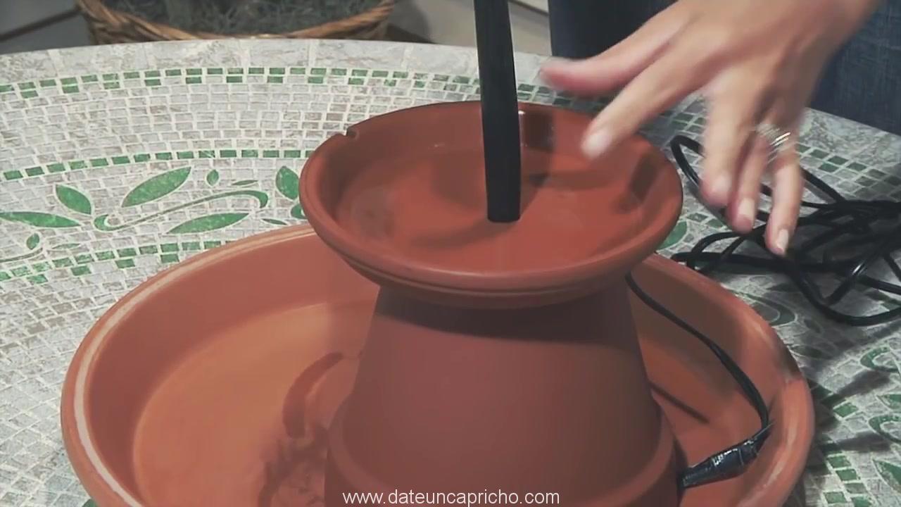 Terra Cotta Fountain How To Build Menards 302