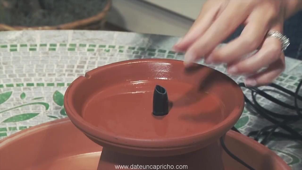 Terra Cotta Fountain How To Build Menards 315