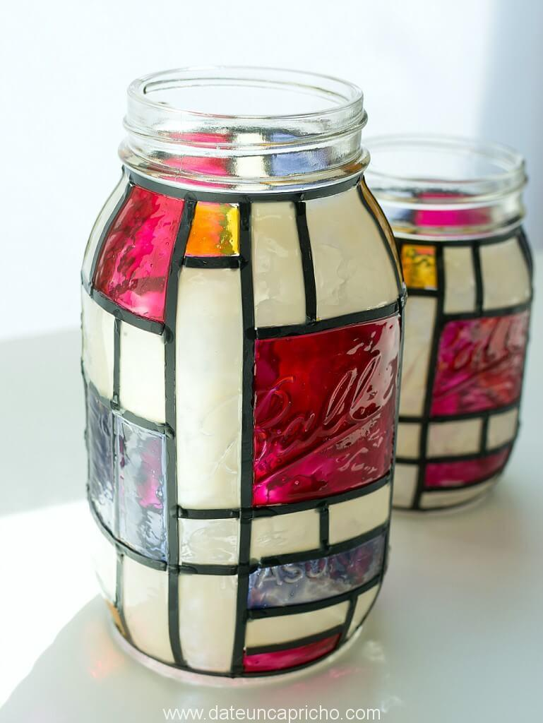 mondrian-mason-jar-stained-glass-craft-3-of-24-769x1024