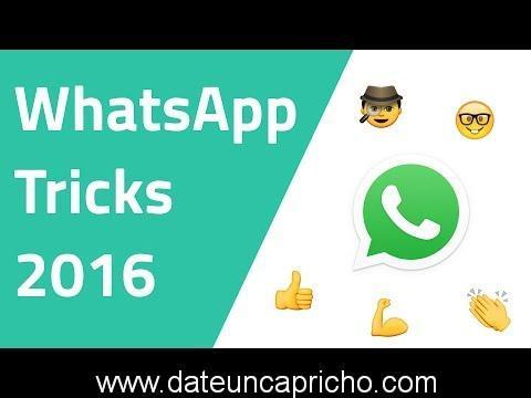 Trucos de WhatsApp 2016