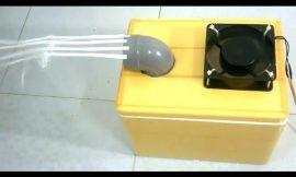 2 Maneras de hacer un acondicionador de aire en el hogar