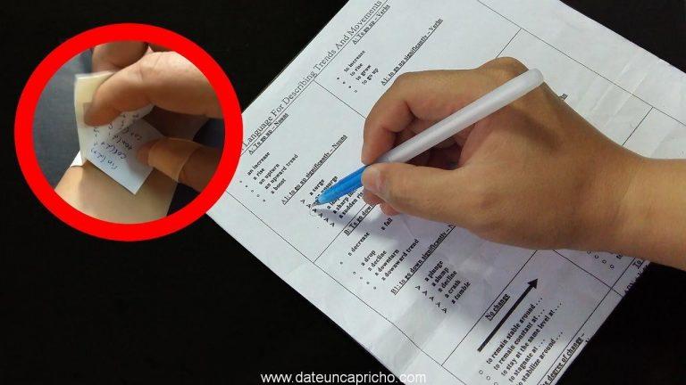 3 Formas de hacer trampa en un examen – parte 2