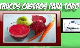 Bebida milagrosa de zanahoria remolacha y manzana para la salud