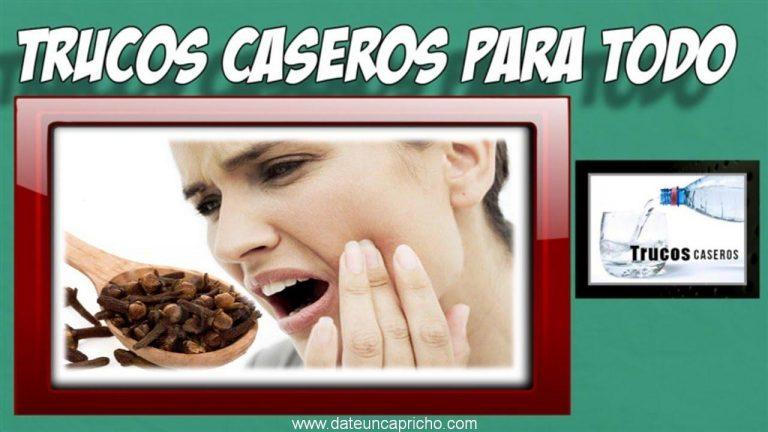 Clavo de olor para el dolor de muelas – Remedios caseros para el dolor de muelas.