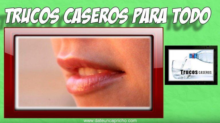 Como aclarar los labios oscuros naturalmente – Remedios caseros para los labios oscuros