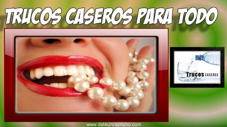 Como blanquear los dientes con peroxido de hidrogeno – Remedios caseros para los dientes
