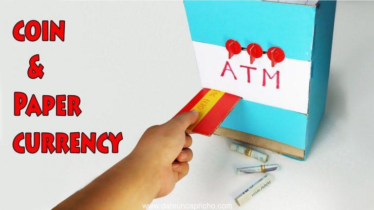 Cómo hacer que la máquina ATM – alcancía