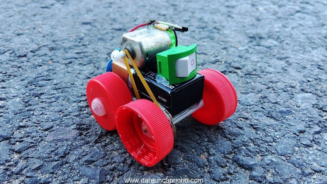 como hacer un coche electrico casero