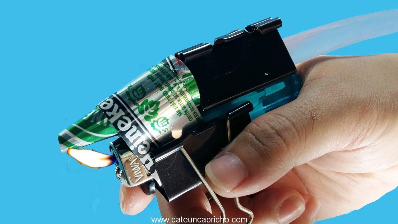 cómo hacer uso de pistola de pegamento caliente más ligero