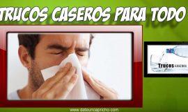 Como aliviar la congestion nasal naturalmente – Tratamiento casero para la congestion nasal